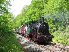 Asse-Bummler im Wald kurz vor Wittmar